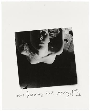 On Being an Angel #1, Providence,Rhode Island, 1977 ©Francesca Woodman